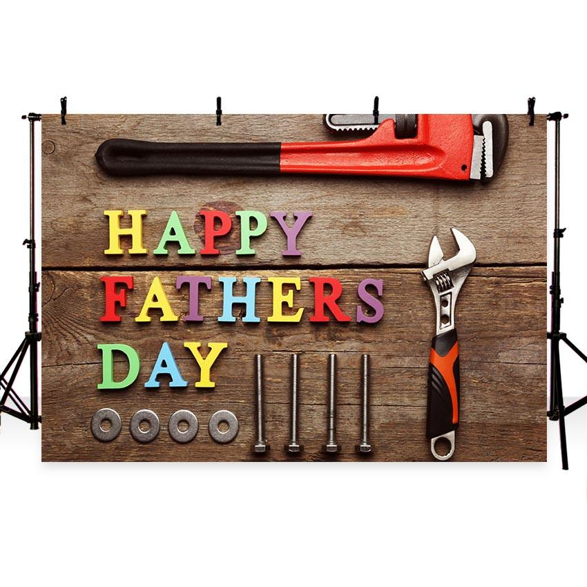 Father's Day Background Wood Backdrops G-395