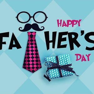 Father's Day Backdrop Blue Backgrounds G-399