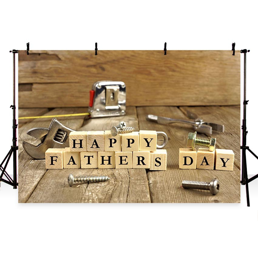 Father's Day Backdrops Wood Background G-400