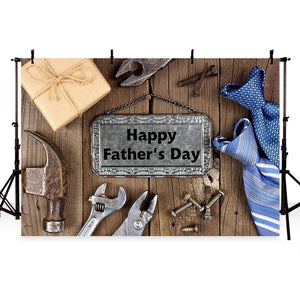 Father's Day Background Wood Backdrops G-401