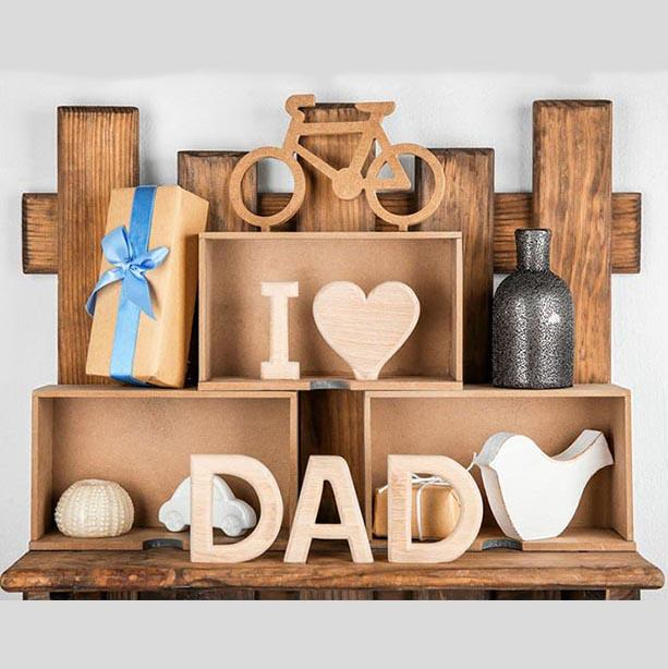 Father's Day Backdrop Wood Backdrops G-402 - iBACKDROP