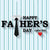 Father's Day Backdrops Blue Background G-413
