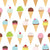Patterned Backdrops Polka Dot Printed Backdrops Ice Cream Background G-447
