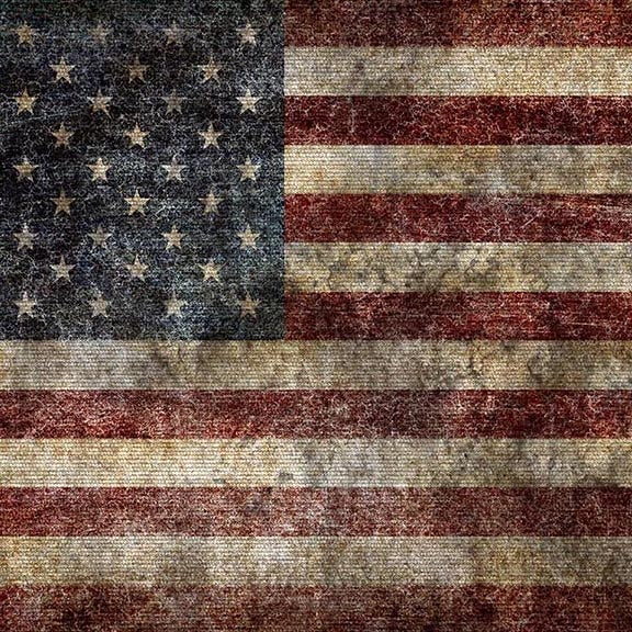 Bunting Backdrops Grunge Background Patriotic Backdrops G-457