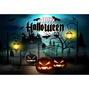 Halloween Backdrops Pumpkin Background Halloween Photo Backdrops G-521
