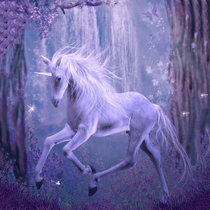 Animal Backdrops Forest Backdrops UnicornBackground G-546