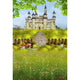 Castle Backdrops Green Backdrops Spring Background G-549