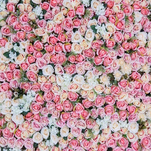 Patterned Backdrops Flower Backdrop Pink And White Backgrounds G-606