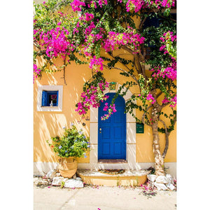 Scenic Backdrops Window Door Backdrops Colorful Background G-670
