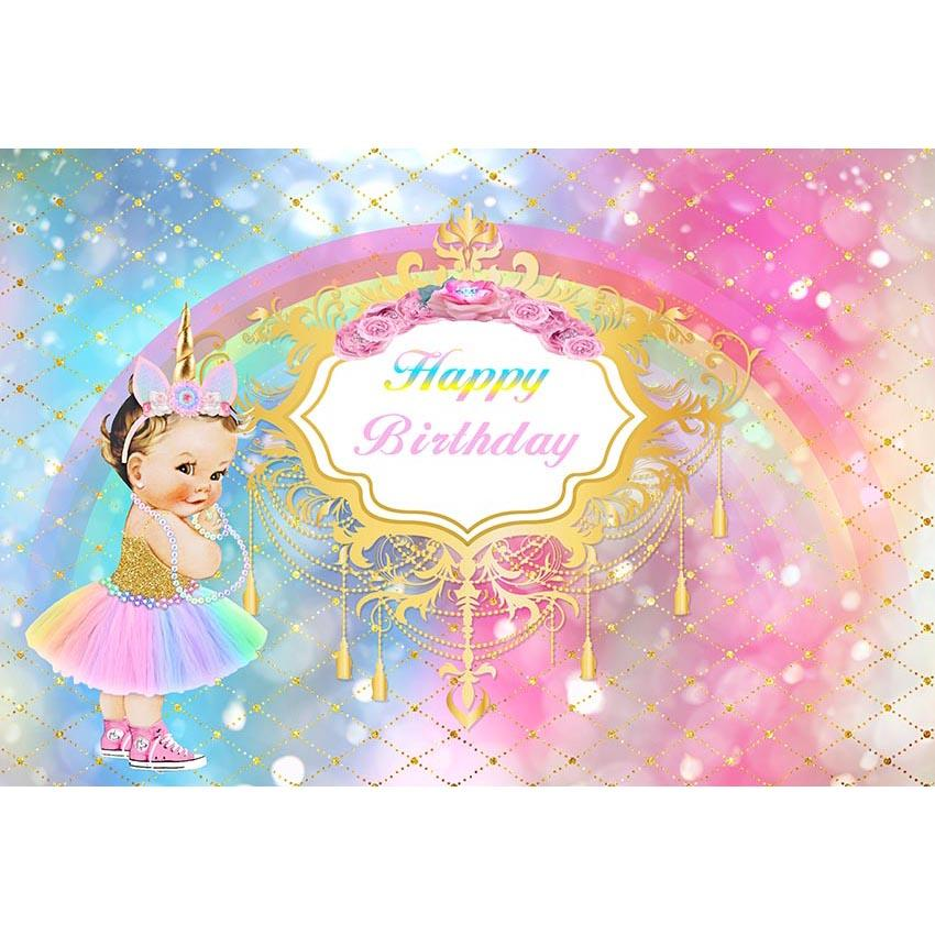 Themed Backdrops Birthday Backdrops Princess Background G-685