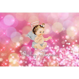 Baby Show Backdrops Pink Backdrops Background G-687