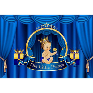 Baby Show Backdrops Blue Backdrop G-691