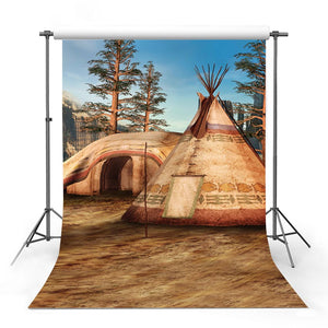 Scenic Backdrops Trees Parks Woodland Backdrops Tent Backgrounds G-704