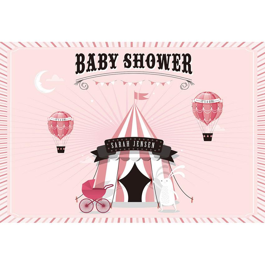 Baby Show Backdrops Girl Backgrounds Pink Backdrop G-707