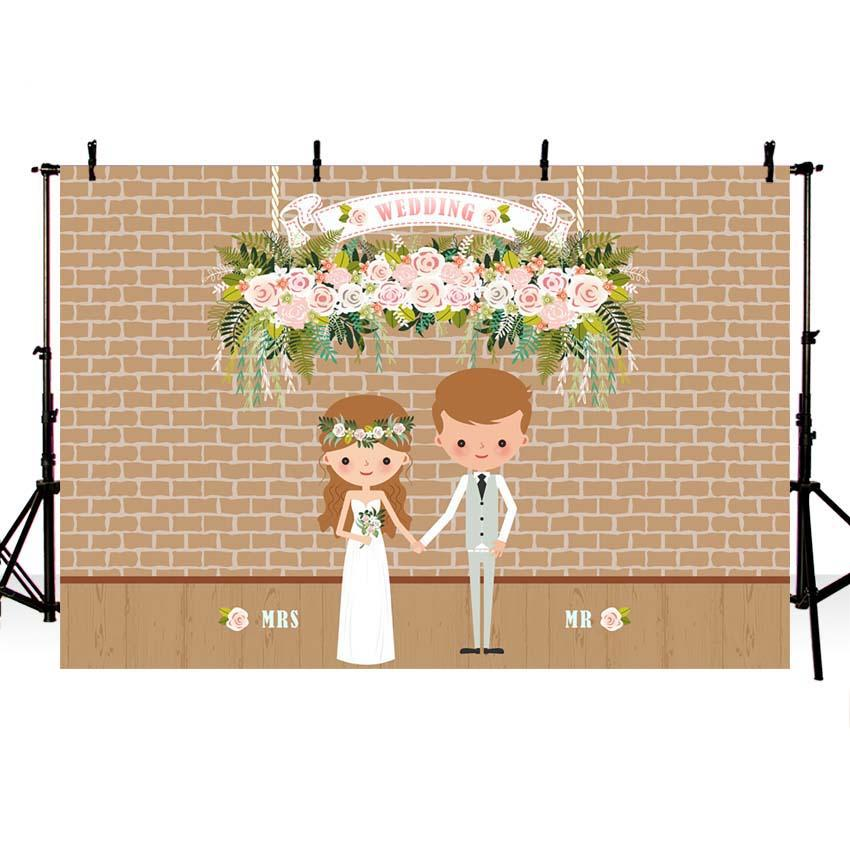 Wedding Backdrops Couple Backdrops Pink Background G-719