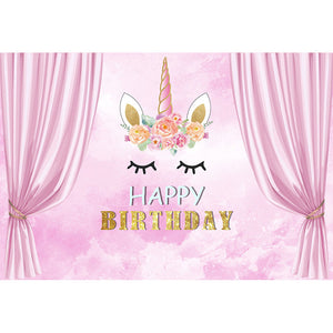 Birthday Backdrops Princess Backdrop Pink Backgrounds G-720