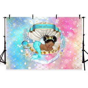 Baby Show Backdrops Girl Backdrop Colorful Backgrounds G-733