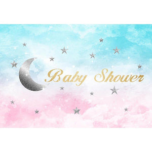 Baby Show Backdrops Green And Pink Backdrop G-748