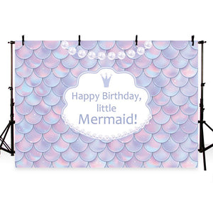 Custom Backdrops Birthday Backdrops Purple Pearl Backgrounds G-751