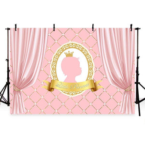 Baby Show Backdrops Pink Backdrop G-758