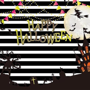 Pumpkin Background Halloween Backdrops Festival Backdrops Trees G-782