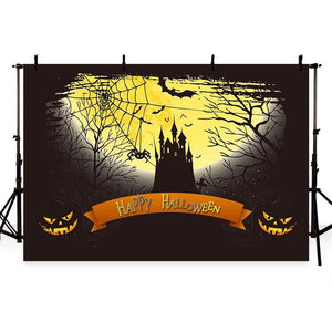 Halloween Backdrops Festival Backdrops Pumpkin Background G-784