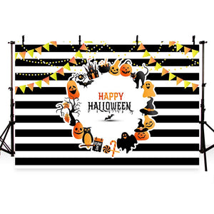 Festival Backdrops Halloween Background Photo Backdrop Flags G-790