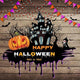 Festival Backdrops Halloween Backdrops Seamless Background G-799