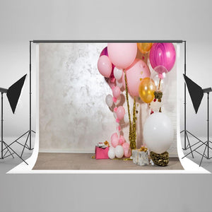 Dessert Table Party Backdrops Photo Backdrop Balloons Background HJ04892
