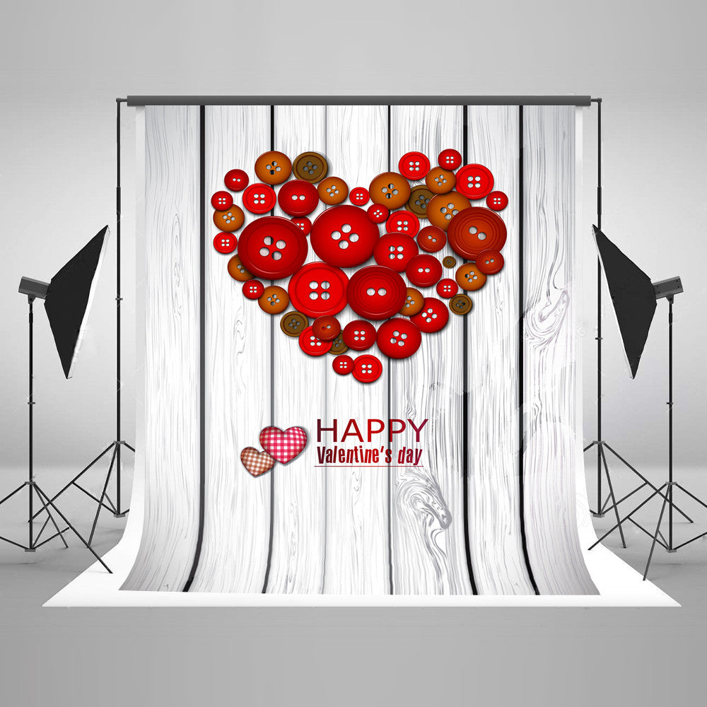 Festival Backdrops Valentine Day Background Wood Backdrops J02978