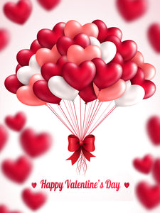 Festival Backdrops Valentine Day Backdrops Balloon Background 02980