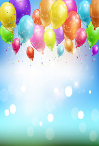 Balloon Backdrops Birthday Background Event Party Backdrops J03148