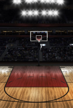 Sport Backdrops Basketball Rack Background Digital Backdrops J04311