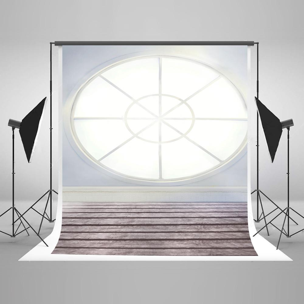 Scenic Backdrops Window Backgrounds Wood Backdrop Grey Wall LK-2442