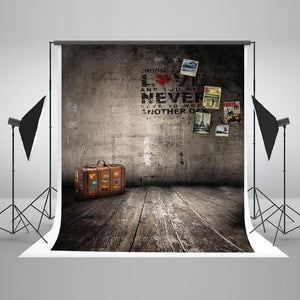Grunge Backgrounds Wall Backdrop Vintage Backdrop Stone Wall LK-3865
