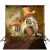 Baby Backdrops Cartoon Backdrop Fairytale Nature Cute Background N10202
