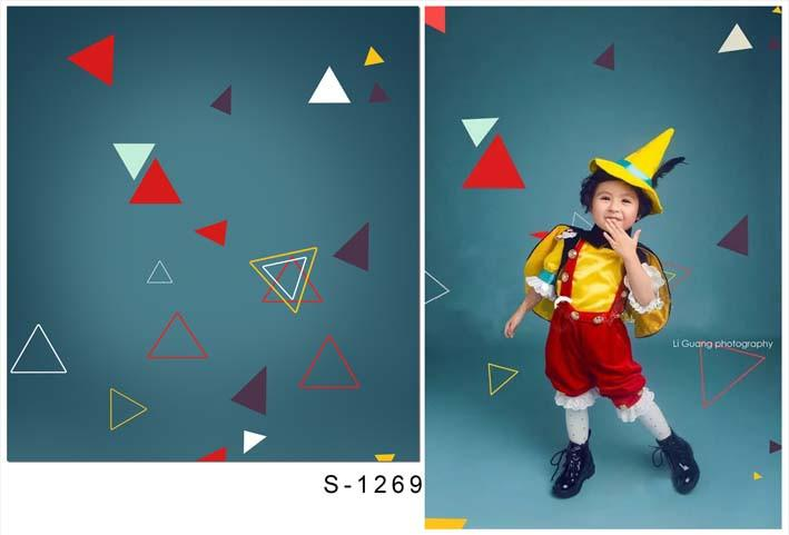 Backdrop by Theme Baby Background Little Boy Backdrops S-1269 - iBACKDROP-backdrops for events, backdrops for videos, blue photo backdrops, custom made backdrops, hip hop backdrops