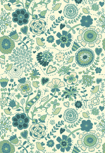 Patterned Backdrops Floral Backdrops Green Backgrounds S-2645