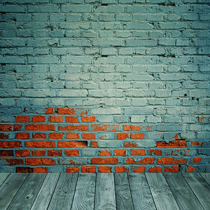 Brick Wall Backdrops Green Backgrounds Seamless Backdrops S-2653
