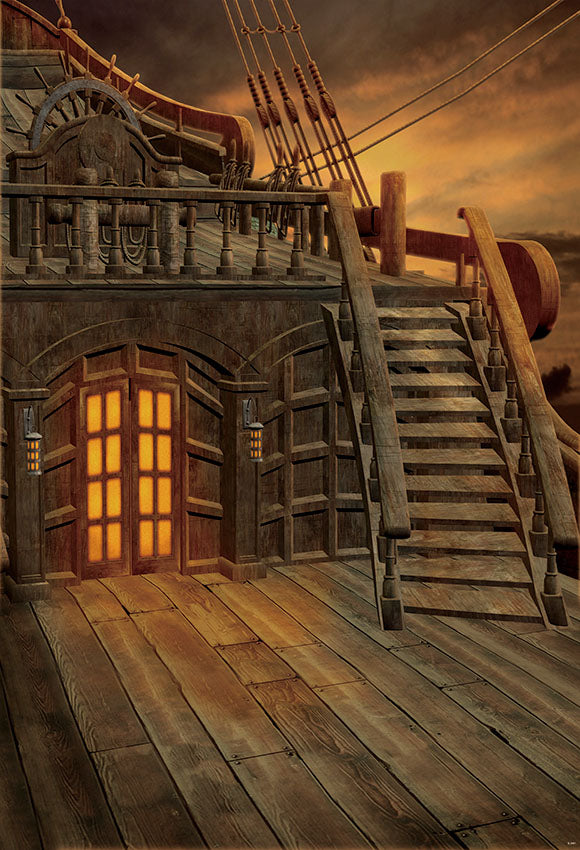 Staircase Backdrops Sailing Backdrops S-2661