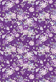 Patterned Backdrops Flower Background Purple Backdrop S-2680
