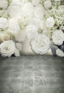 Patterned Backdrops Flower Backgrounds Backdrops Beautiful S-2694