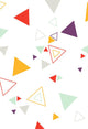 Colorful Backdrops White Backdrop Triangles Backgrounds S-2836