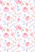 Patterned Backdrops Flower  Backgrounds Backdrops Beautiful S-2844