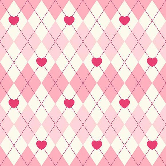 Plaid Backdrop Pink Background S-2845 - iBACKDROP