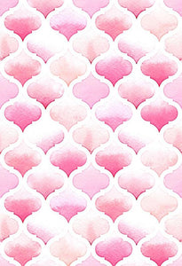 Polka Dot Printed Backdrop Pink Background S-2855