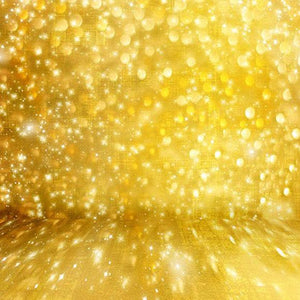 Patterned Backdrops Glitter Backdrop Gold Background S-2900