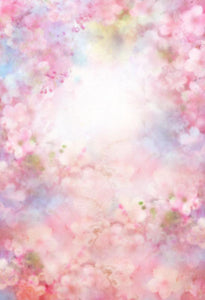 Bokeh Blurred Backdrops Patterned Backgrounds Flower Backdrops S-2976