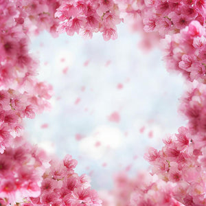 Patterned Backdrops Flower Backgrounds Pink Backdrops S-2986