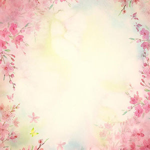 Blurry Backdrops Flower Backgrounds Photography Backdrops S-2993